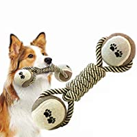 Igemy-Pet Jouet à mâcher pour Chien Durable Jouet de Dentition Jouet Indestructible Nettoyage des Dents de Chiot interactif Longue durée et Solide Dents Soulage Le Stress Jouets d'entraînement