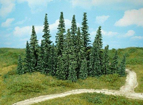 Heki 2231 Tannenbäume 50 Stück, Höhe 12 cm, Mehrfarbig