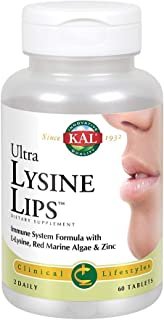 Kal Ultra Lysine Lips Tablets, 60 Count