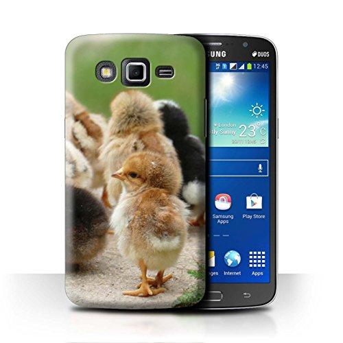 eSwish Carcasa/Funda Dura para el Samsung Galaxy Grand 2/G7102 / Serie: Lindos Animales de Compañía - Polluelo/Pollo