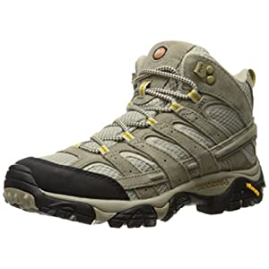 Merrell Women's Moab 2 Vent Mid Hiking Boot, Taupe, 11 M US