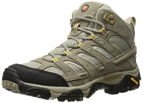 Merrell Women's Moab 2 Vent Mid Hiking Boot, Taupe, 8 M US