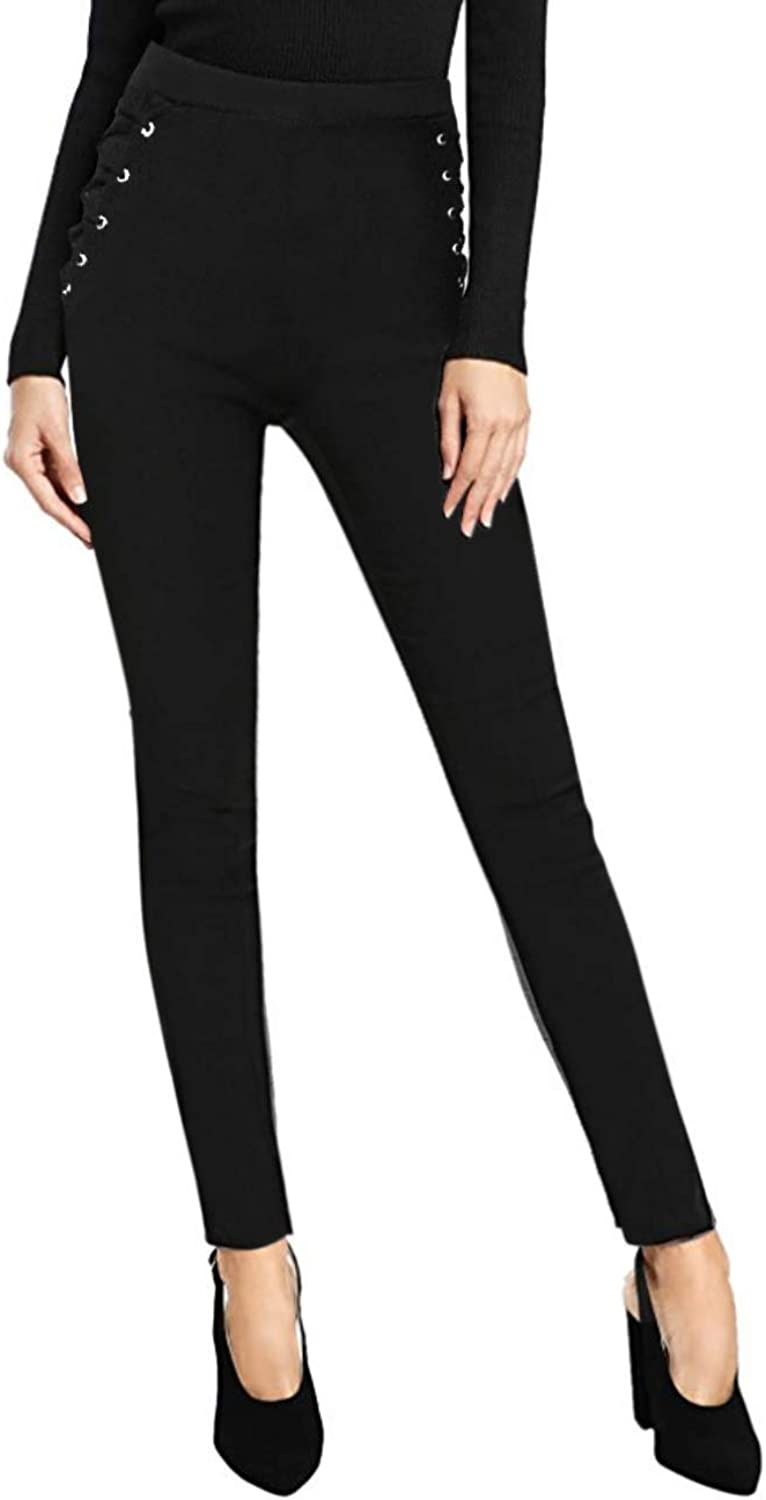 Hybrid & Company Women's Micro Suede Leggings Made In USA