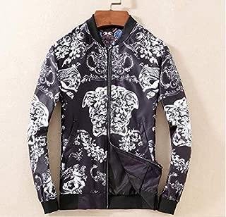 Men Baseball Floral Coat Jacket Outerwear Top Clothing Veste Курт Fashion
