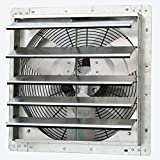 iLiving - 18' Wall Mounted Exhaust Fan - Automatic Shutter - Variable Speed - Vent Fan For Home Attic, Shed, or Garage...