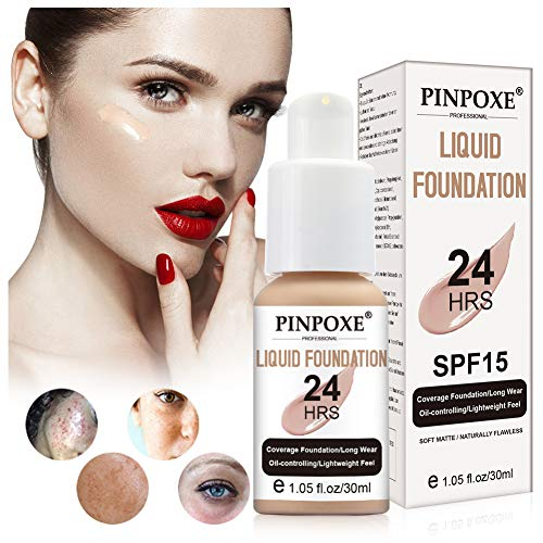 Auch gut in der Leistung Liquid Foundation, Liquid Foundation, Cover Concealer, Liquid Makeup, Gesichts- und Hals-Concealer, Perfect Cover Liquid Foundation für warme Haut