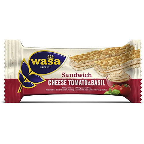 Wasa Cream cheese, tomato & basil 3 x 37g