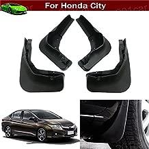 Tiantian New 4pcs Car Mud Flap Splash Guard Fender Mudguard Mudflap for Honda City 2014 2015 2016 2017 2018 2019