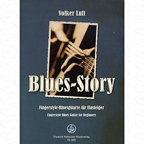 Blues Story - arrangiert für Gitarre - mit Tabulator [Noten/Sheetmusic] Komponist : LUFT VOLKER