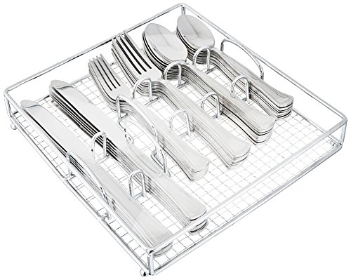 Gibson Home Grand Abby 61 Piece Stainless Steel Flatware Set
