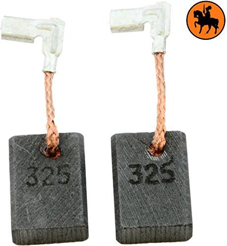 Kohlebürsten für MAKITA 9558NB Schleifer -- 5x11x15,5mm -- 2.0x4.3x5.9''
