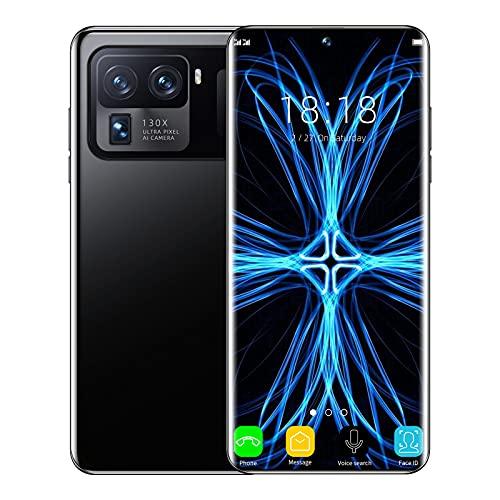 M11 Ultra Smartphone (8GB+256GB), 64MP Triple Kamera, 5G LTE Internationale Version, Dual SIM GSM Entsperrt, 6800Mah Akku,Schwarz
