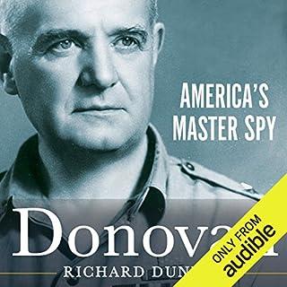 Donovan audiobook cover art
