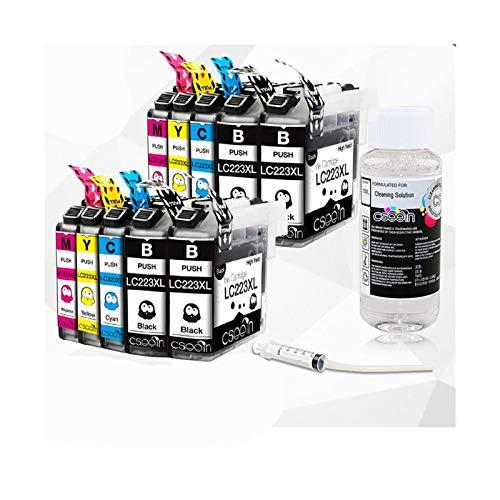 Cartucho de tinta Adecuado para LC223 Cartucho de tinta LC 223 LC223XL Compatible con DCP-J562DW DCP-J4120DW MFC-J480DW MFC-J680DW MFC-J880DW MFC-J880DW MFC-J4620DW Reemplace el cartucho de tinta