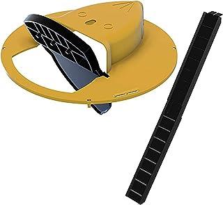 Mengove Flip N Slide Couvercle de Seau Piège à Souris Style de Porte de Piège sans Cruauté ou Mortel Catch Souris de Couve...