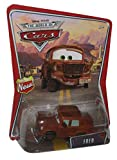 Fred Disney Pixar Cars Mattel World of Cars Background Card With 'New' Sign Symbol On Left Side of Background Card