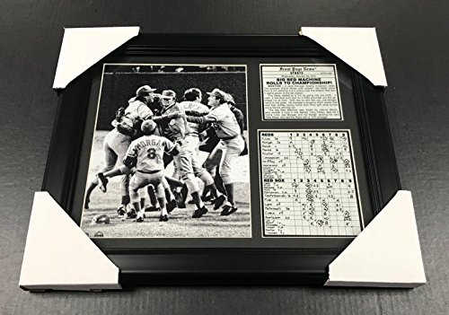 11x14 Framed Big Red Machine Pete Rose , Johnny bench , Joe Morgan , & Tony Perez 8X10 PHOTO