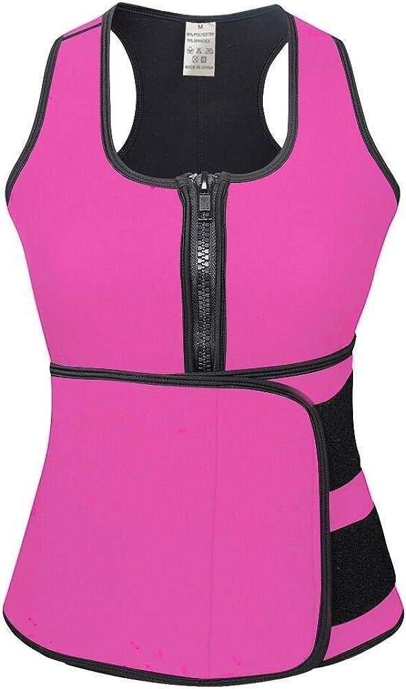 DANALA Women's Neoprene Waist Trainer 5 ☆ popular Top Sauna Sweat Discount mail order Tank Vest