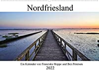 Nordfriesland (Wandkalender 2022 DIN A2 quer): Wunderschoene Nordseekueste. (Monatskalender, 14 Seiten )