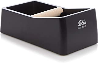 Solis Knock Box, Coffee-Emptying Container, Black