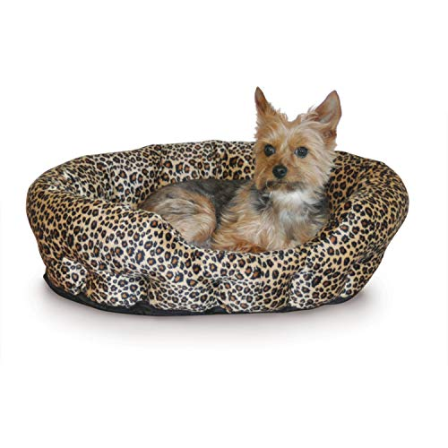 K&H Pet Products Self-Warming Nuzzle Nest Pet Bed