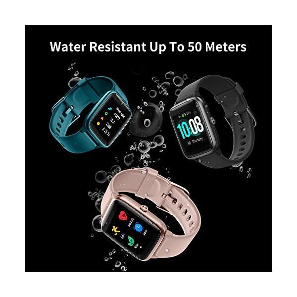 GRDE Smartwatch, Relojes Inteligentes Hombre Impermeable IP68 para GPS