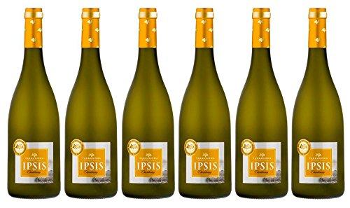 IPSIS CHARDONNAY Vino BLANCO - D.O. TARRAGONA (Caja 6 botellas 75 CL)