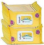 Babygella Salviettine Detergenti per Pelle Bambino, Pulizia Quotidiana, 12 Confezioni da 7...