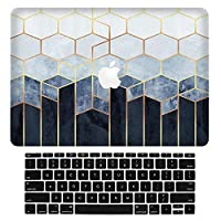 "Sepikey Macbook Pro 13 インチ Retina シェルカバー,超耐摩耗性 汚れに強い 超薄型 保護 耐衝撃性 超耐摩耗性 汚れに強い 超薄型 保護 耐衝撃性 シェルカバーハードケース にとって Macbook Pro 13"" Retina A1502/A1425 + キーボードカバー-WFG02"
