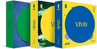 エイビーシックス - VIVID [V+I+D ver. SET] (2nd EP) 3CD+80ページフォトブック3冊+フォトカード3枚+予約特典ARフォトカード3枚+3Folded Poster [KPOP MARKET特典: 追加特典両面フォトカードセット] [韓国盤]