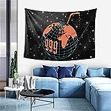 Peliny Chrid Juice Wrld Tapiz para colgar en la pared, tapices suaves para decoración del hogar, sala de estar, recámara, dormitorio, decoración de 60 x 40 pulgadas