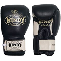 Dense multi-layered foam padding Attached thumbs and convenient hook & loop closures All leather construction