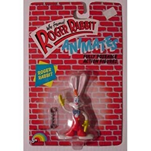 Roger Rabbit 4in Action Figure by LJN Toys, Ltd. 5