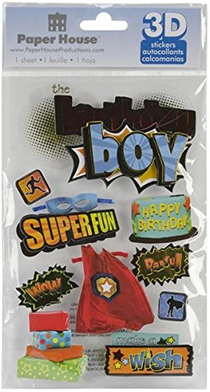 Papier House Productions Productions Productions Geburtstag Luftballons 3D 'Puffy Sticker, Papier, Mehrfarbig, 22.4 x 12 x 0.5 cm B00DV69AKG   Exquisite Handwerkskunst  a293a0
