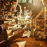 (12 Stück) Flaschenlicht Batterie, kolpop 2m 20 LED Glas Korken Licht Kupferdraht Lichterkette für flasche für Party, Garten, Weihnachten, Halloween, Hochzeit, außen/innen Beleuchtung Deko (Warmweiß) - 3