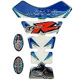 Protector para depósito de Motocicleta Suzuki TL 1000 R, de Goma, Color Azul
