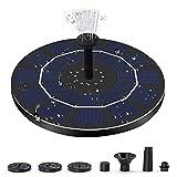 Csy Fuente De Energía Solar, Ducha De Aves Solares De 2.5W / 6V 5 Aerosol, Adecuado para Bañeras De Aves, Estanques, Piscinas, Tanques De Pescado, Acuarios Y Jardines