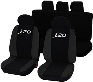2017 - in Poi Coprisedili Anteriori KAROQ Versione compatibili con sedili con airbag con Fori per i poggiatesta e bracciolo Laterale
