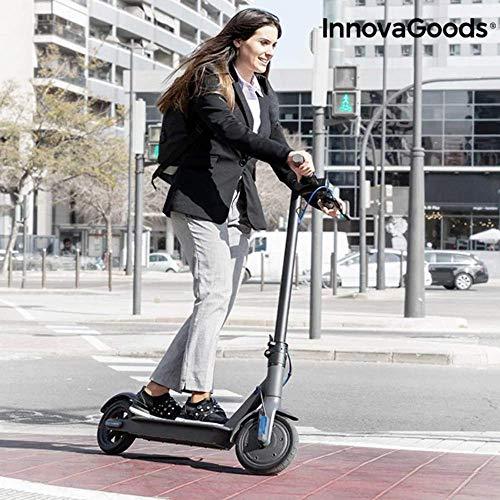 """InnovaGoods - Monopattino Elettrico Pieghevole PRO 8,5"""", 7800 mAh, 350 W, Nero, Unisex, Grigio, 8,5"""""""