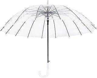 Parapluie Poche id/éal pour Voyage Parapluie Pliant Transparent pour Femme Chien Syst/ème douverture Automatique Parapluie Pliable Ultra Compact 29 CM