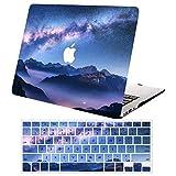ACJYX Funda Rígida para MacBook Pro 15 Pulgadas con Touch Bar (Modelo A1990 A1707,Versión 2019 2018 2017 2016), Plástico Dura Carcasa con Cubierta de Teclado,Mundo Maravilloso