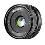 Neewer 32mm F/1,6 Enfoque Manual Objetivo Principal Afilado Alta Apertura,para Sony E-Mount APS-C...
