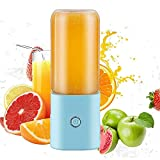 WeZest hand held electrical whisk Little Portable Blender,Personal Mini Blender for Smoothies and Shakes,Handheld Juicer Machine USB Rchargeable Smoothie Maker, Ice Small Blender Mixer H