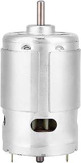 Miniatyrmotor, lågt brus högeffekt miniatyr DC motor 12 V 3 000 RPM dubbelt kullager