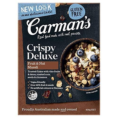 CARMAN'S (カーマンズ)デラックス グルテンフリー ミューズリー 400g【保存料・人工香料・遺伝子組み換え不使用】【HALAL取得】 ミューズリー グルテンフリー 1個