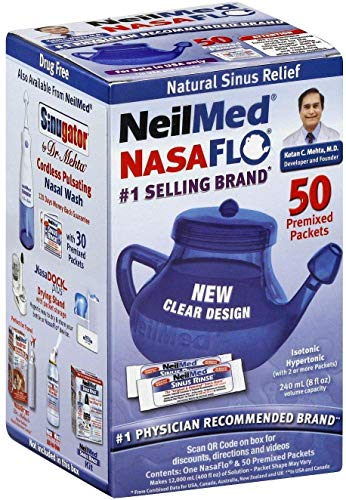 NEI816 - NasaFlo Neti Pot with Premixed Packets