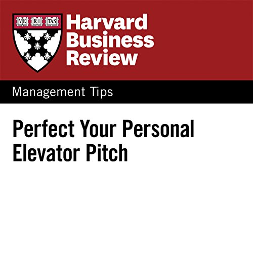 Perfect Your Personal Elevator Pitch cover art