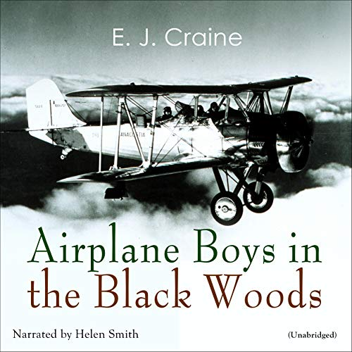 Airplane Boys in the Black Woods audiobook cover art