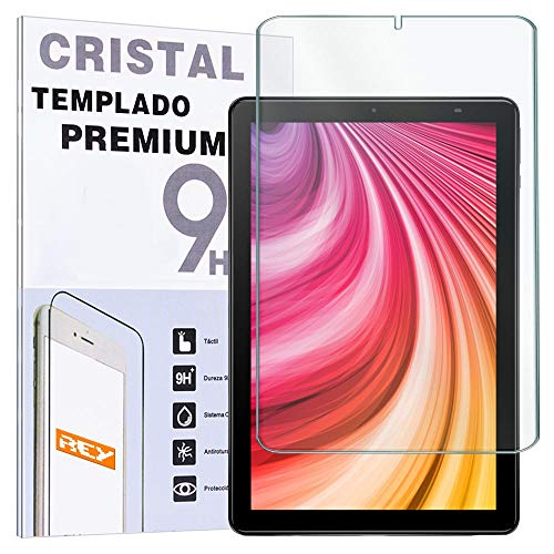 "REY - Protector de Pantalla para CHUWI Hi9 Plus 10.8"" / Hi9+, Cristal Vidrio Templado Premium, Táblet"