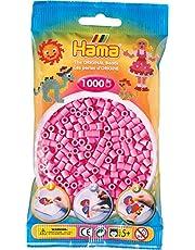 Hama 207-48 - strijkkralen, ca. 1000 parels, pastelroze